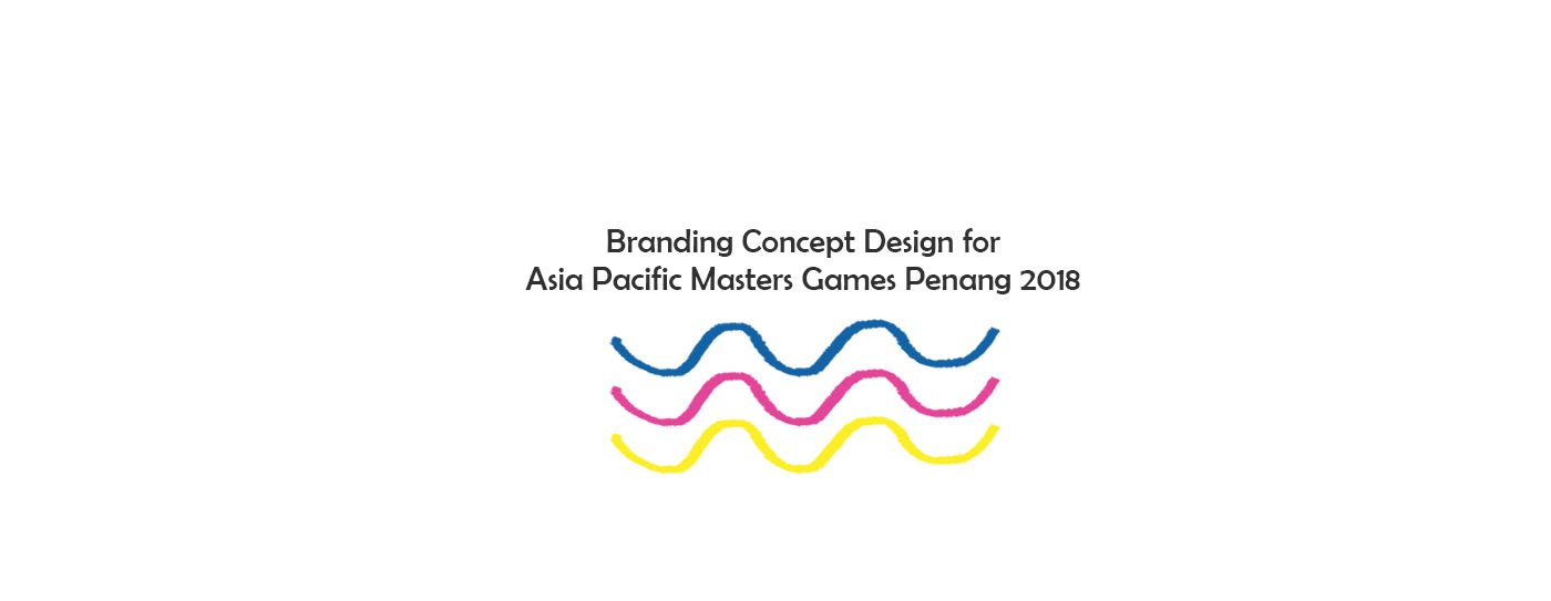 Branding Concept Design for Asia Pacific Masters Games Penang 2018