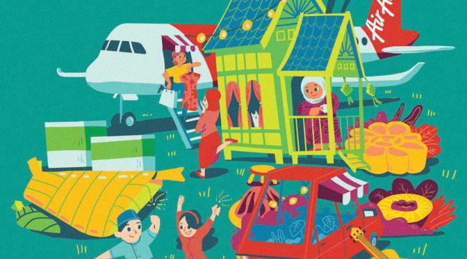 AirAsia | Hari Raya Key Art